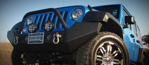 grill guard on jeep