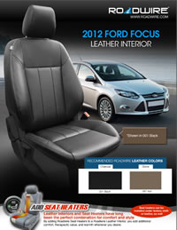 ford focus leather seats